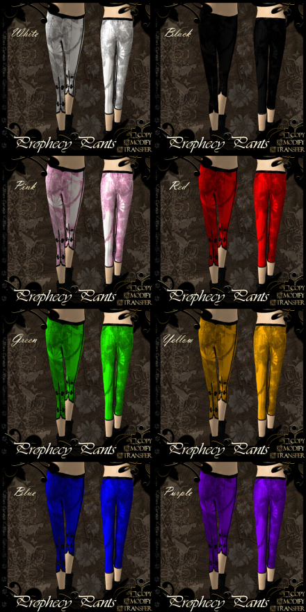 Prophecy Pants