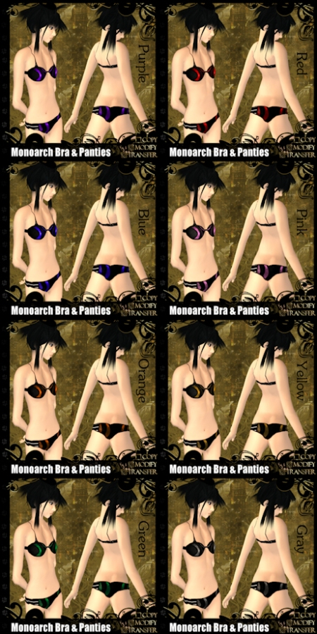 Monoarch Bra & Panties