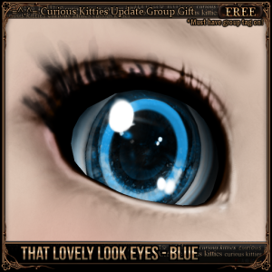 [FREE] GROUP GIFT - That Lovely Look Eyes - Blue