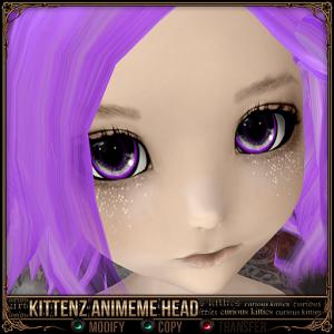 Kittenz Animeme Head