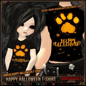 [FREE] Happy Halloween T-Shirt - Default Unreal