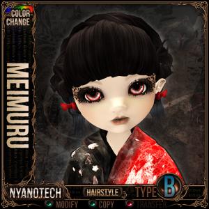 Nyanotech Hair [Type B] - Meimuru V3