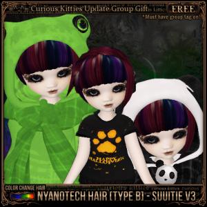 Nyanotech Hair [Type B] - Suuitie V3