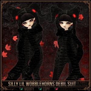 Silly Lil Wobblehorns Debil Suit