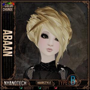 Nyanotech Hair [Type B] - Abaan V3