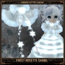 Frost Rosette Shawl