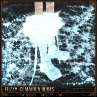 Fuzzy Icemaiden Boots