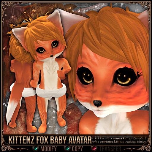 Kittenz Fox Baby Avatar