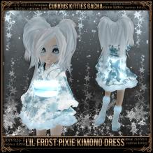 Lil Frost Pixie Kimono Dress