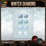 Nyanotech HUD [Type A+B] - Winter Diamond