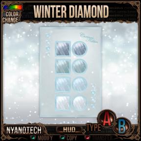 Nyanotech HUD [Type A+B] - Winter Diamond