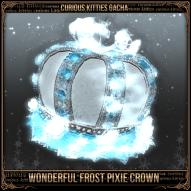 Wonderful Frost Pixie Crown