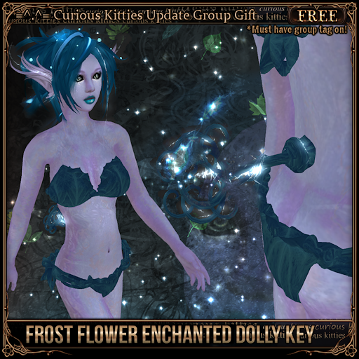 [FREE] Frost Flower Enchanted Dolly Key