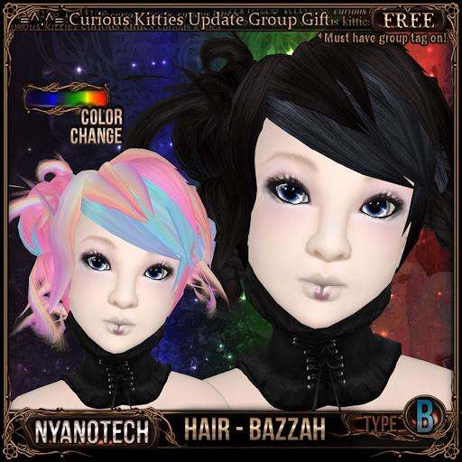 [FREE] Nyanotech Hair [Type B] - Bazzah V3