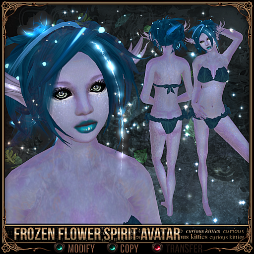 Frozen Flower Spirit Avatar