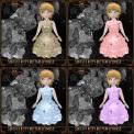 Softest Kitty Butterfly Dress - Brown, Pink, Blue, Purple