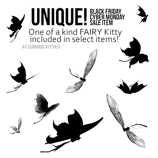 Unique Kitty Fairy Included in Select Items
