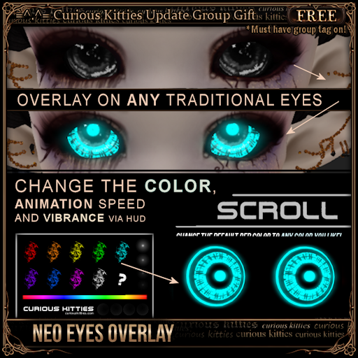 [Free] Neo Eyes Overlay - Scroll