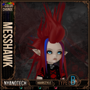 Nyanotech Hair [Type B] - Messhawk V3