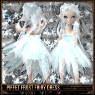 Piffet Frost Fairy Dress