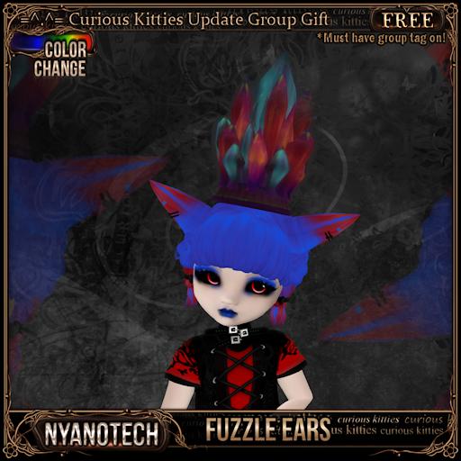 Nyanotech [Type B] - Fuzzle Ears V3