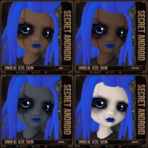 Unreal Azil Skin - Secret Android - Owl ~ Whisp