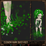 Clover Fairy Dust Feet
