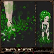 Clover Fairy Dust Feet