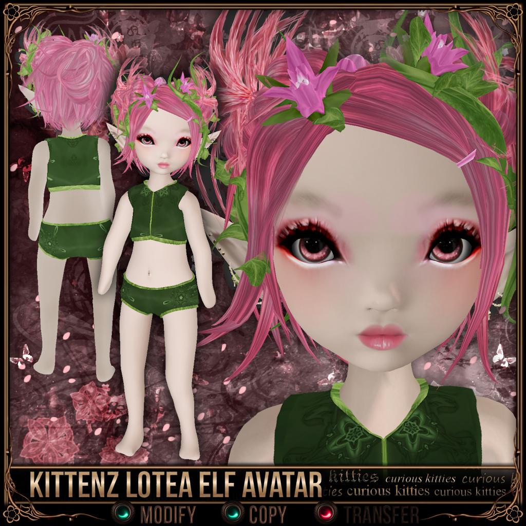 Kittenz Lotea Elf Avatar
