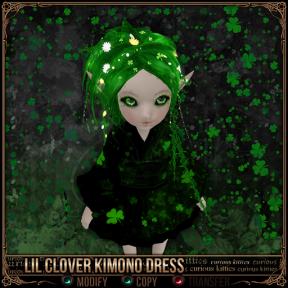 Lil Clover Kimono Dress