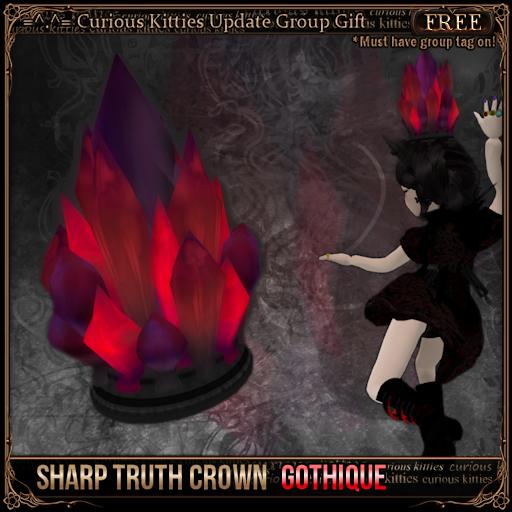 Sharp Truth Crown - Gothique