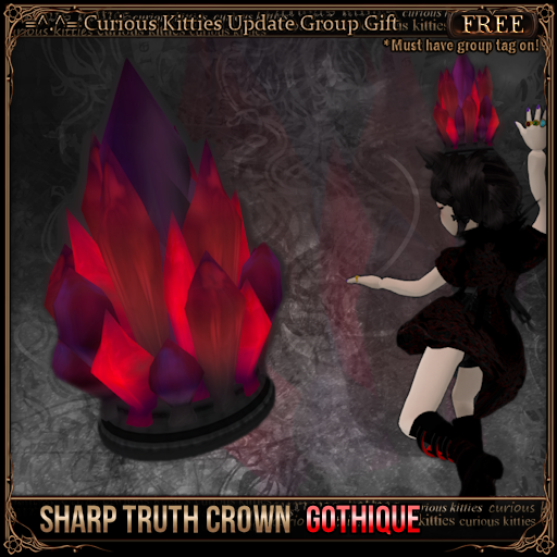 Sharp Truth Crown - Gothique