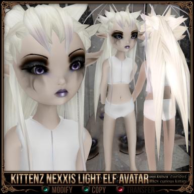 Kittenz Nexxis Light Elf Avatar