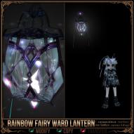 Rainbow Fairy Ward Lantern