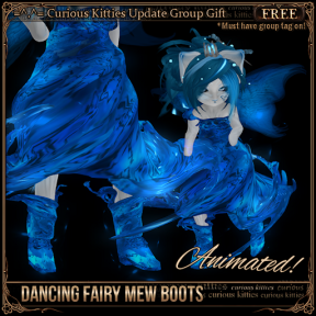 Dancing Fairy Mew Boots