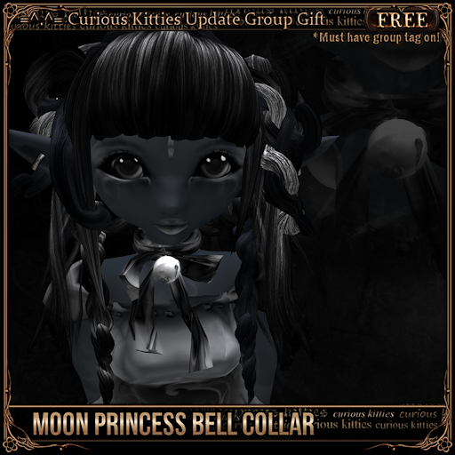 [FREE] Moon Princess Bell Collar