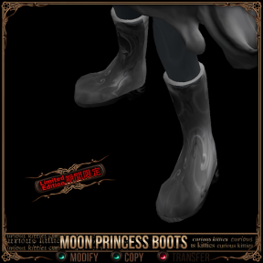 Limited Edition Moon Princess Boots