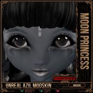 Unreal Azil Moon Princess Skin