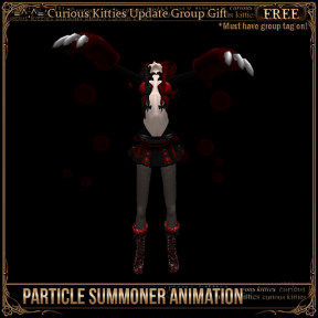 Particle Summoner Animation