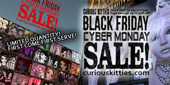 Curious Kitties Black Friday Cyber Monday Sale.png
