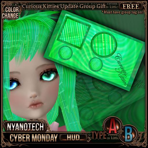 [FREE] Nyanotech HUD [Type A+B] - Cyber Monday
