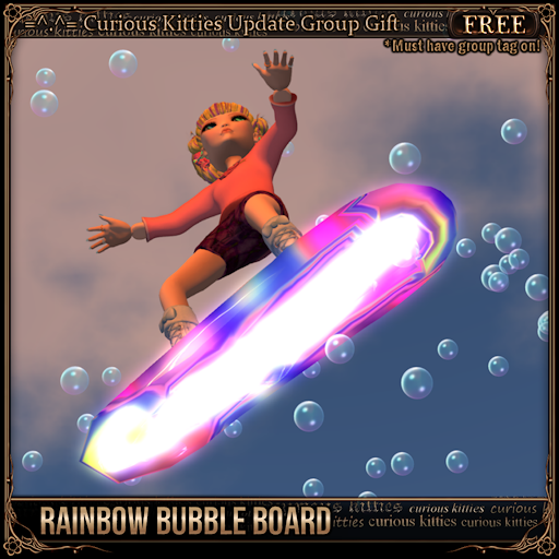 [FREE] Rainbow Bubble Board