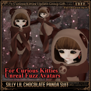 [FREE] Silly Lil Chocolate Panda Suit